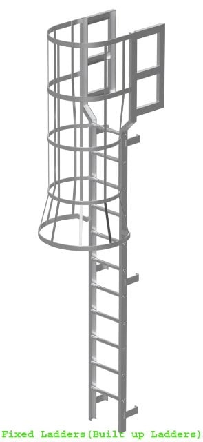 Built-up-Ladders (Fixed-Ladders)