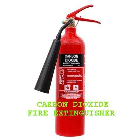 carbon dioxide fire