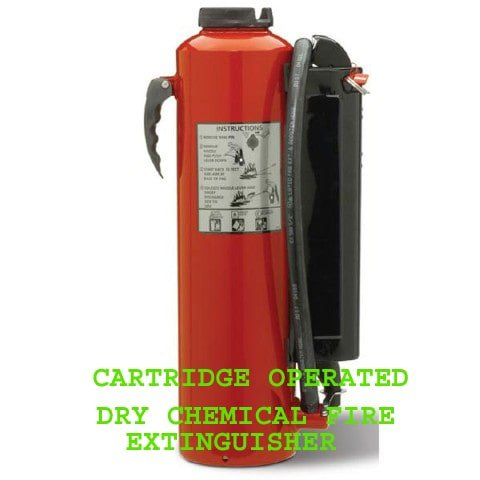 catrige operated dry chemical fire
