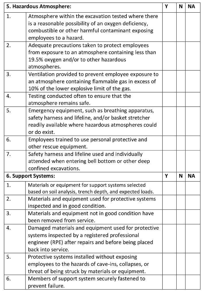 Excavation-checklist-3