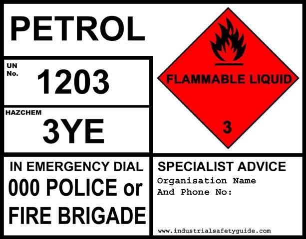 Emergency-information-panel