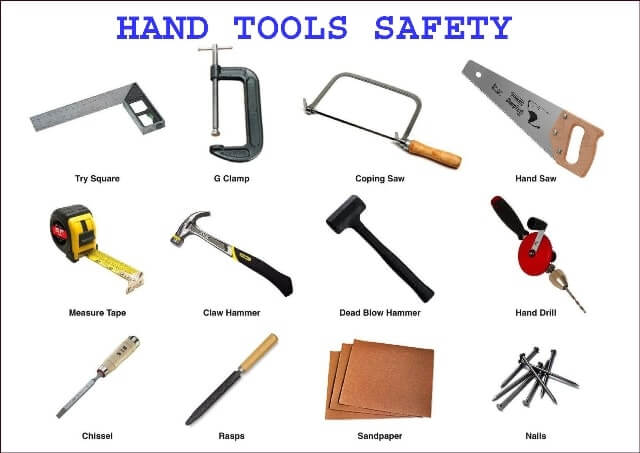 Hand-tools-safety